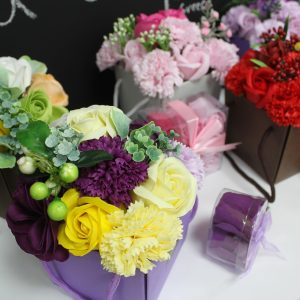 Collection of Luxury Soap Flower Bouquets