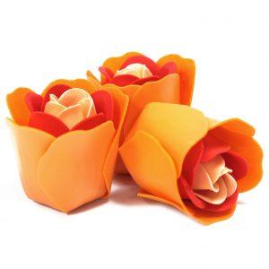 Peach Roses Decorative Soaps