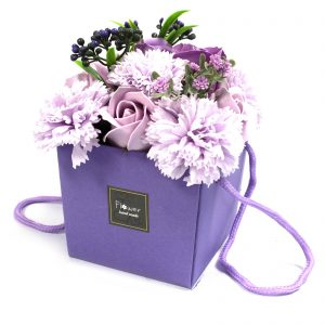 Luxury Soap Gifts - Lavender Rose & Carnation Bath Flowers
