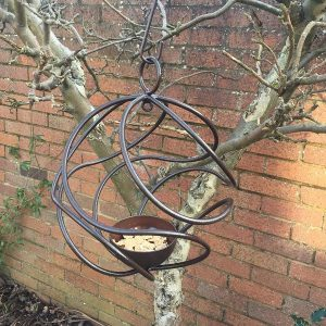 Poppy Forge Ball Bird Feeder