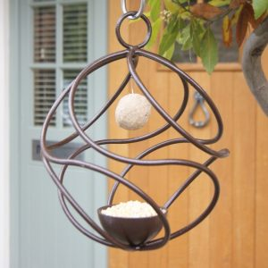 Garden Bird Feeder - Stunning Tangle Ball Hanging Birdfeeder