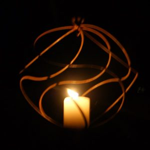 Tangle Ball Candle Holder by Night