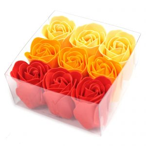 Peach Soap Roses - Bath Flower Petals