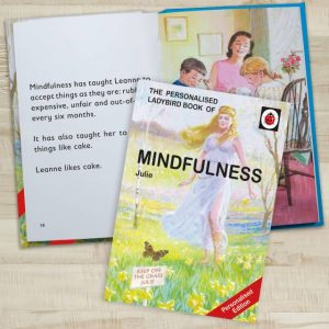Personalised Ladybird Book of Mindfulness - Comical Life Skills