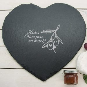 Slate Cheese Board Personalised