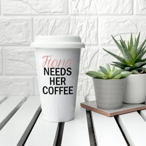 Coffee Cups to Go - Personalised Ceramic Eco Cups