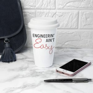 Personalised It Ain't Easy Travel Mug - For Colleagues