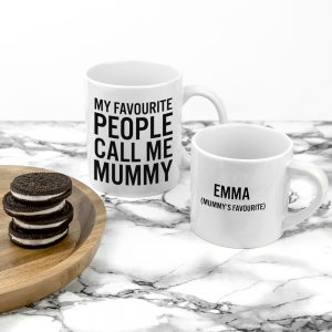 Good Ideas for Mother's Day - Personalised Mummy & Me Mugs