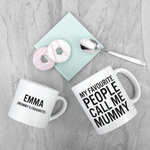 Good Ideas for Mother's Day - Personalised Mummy & Me Cups