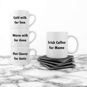 Mother's Day Mugs - Gorgeous Mummy & Me Personalised Ceramic Mugs