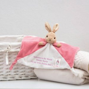Personalised Flopsy Bunny Comforter
